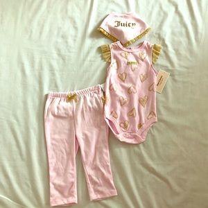 Juicy Couture 3 piece set